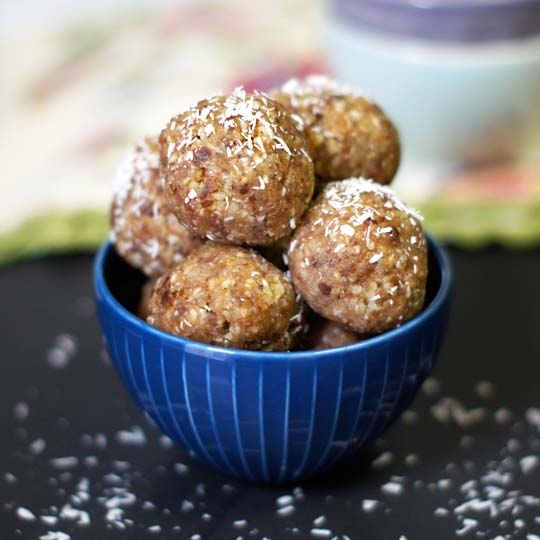 Date Seed Energy Balls Recipe