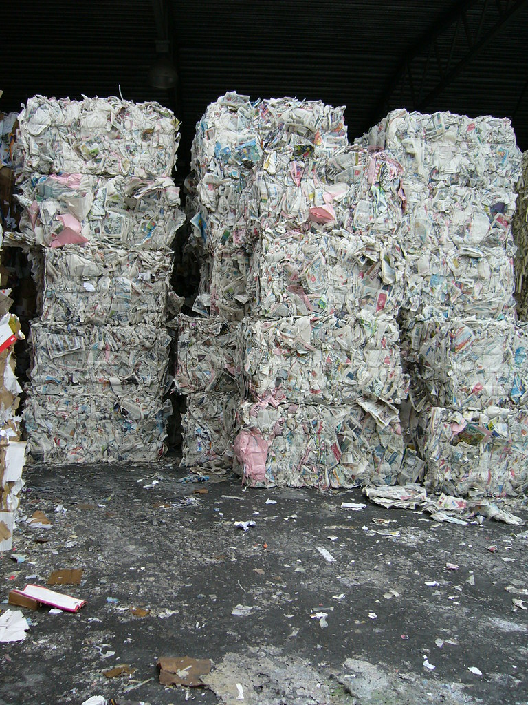 Stacks of Paper Trash