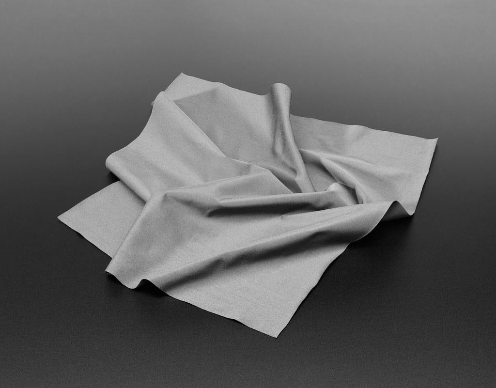 Grey Microfiber Towel