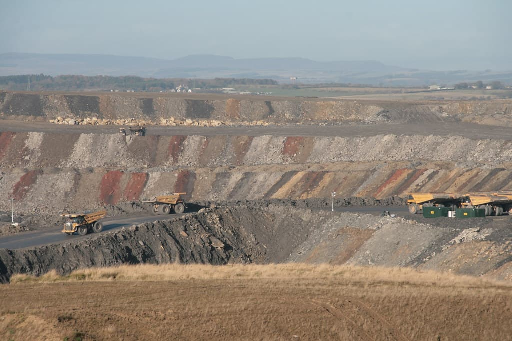 Mining in a Quarry