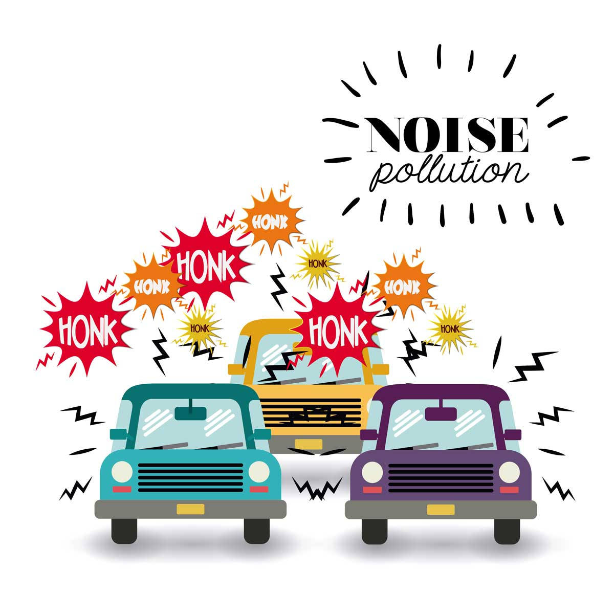 Noise Pollution Graphic