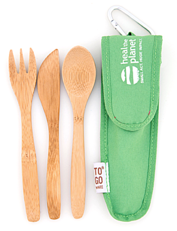 Children's Bambooware Utensil Set