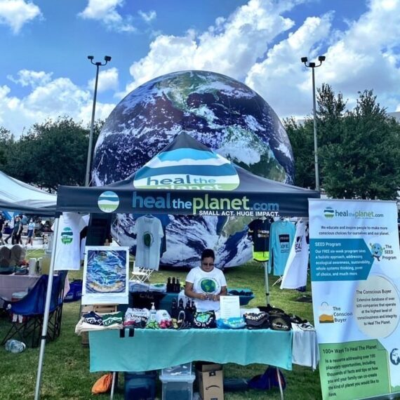 Heal The Planet Day Photos